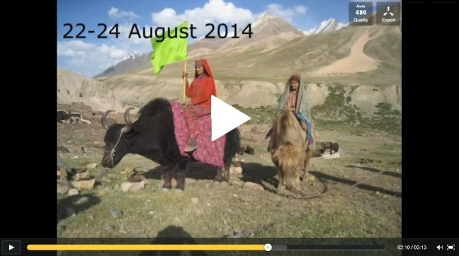 women on yaks